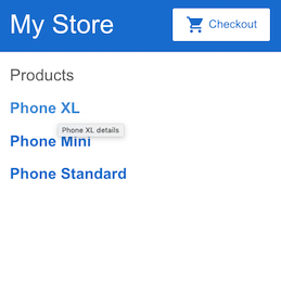 Product name anchor text is product name property